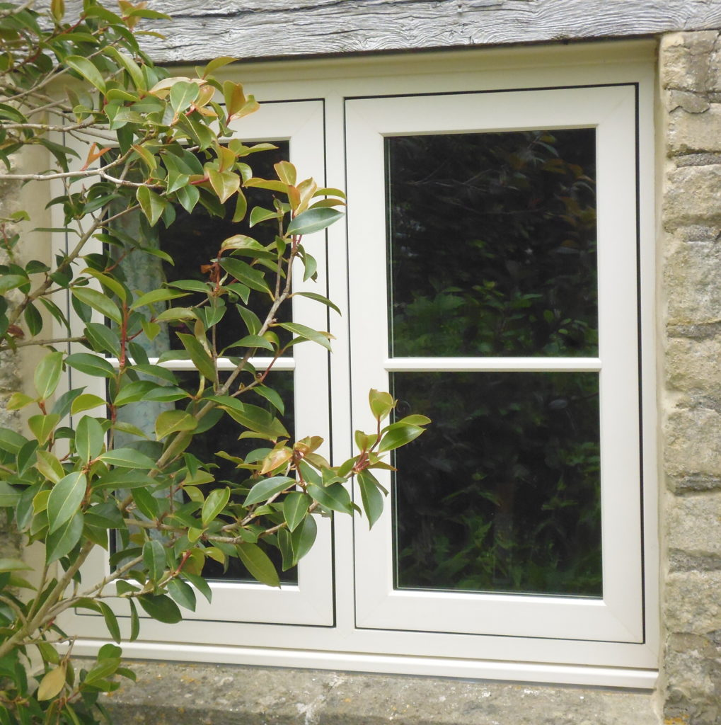 Flush Casement Window with Astragal Bars