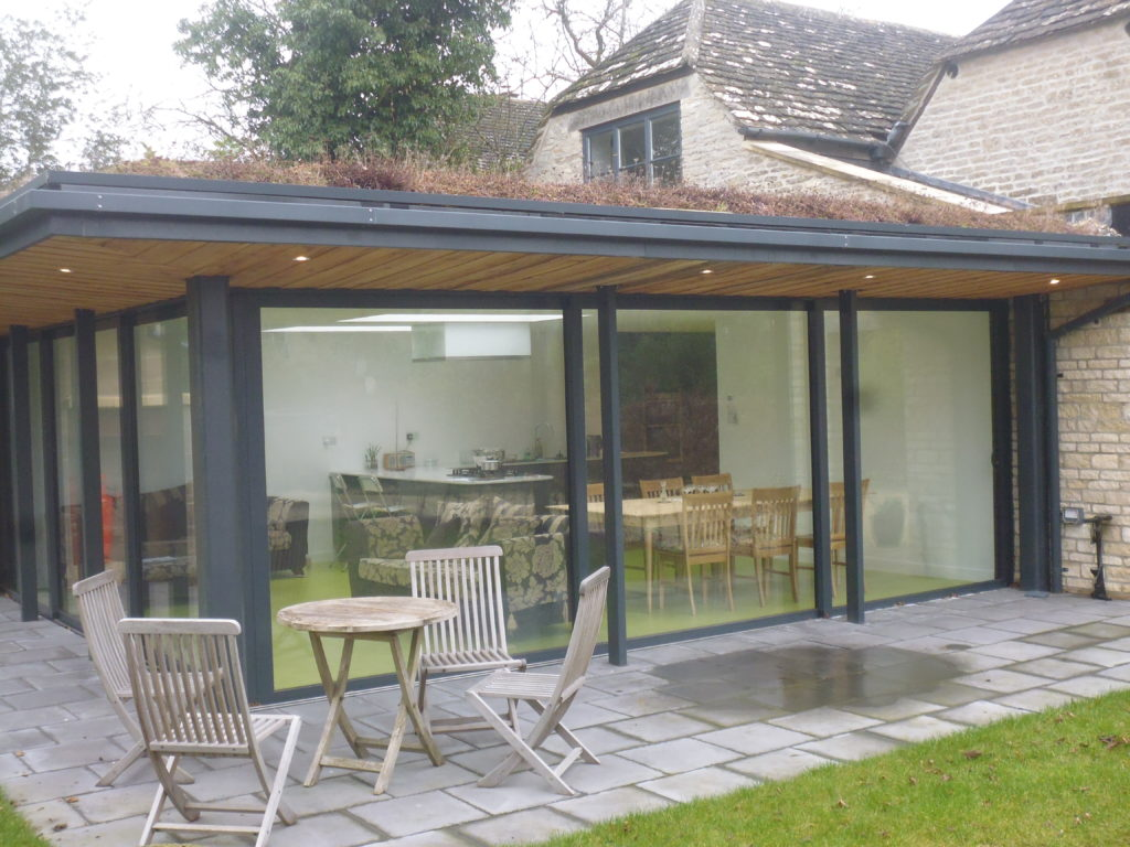 Aluminium Patio Door Installed by us near Cirencester