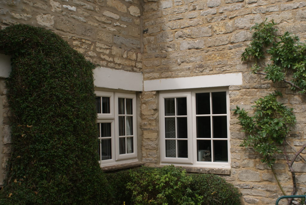 Rustique Cream Casement Window