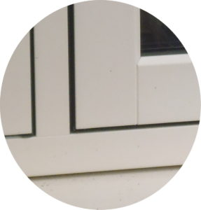Mechanical Flush Sash Window Corner Detail