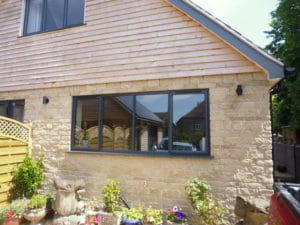 Alitherm Casement Window fitted In Chalford