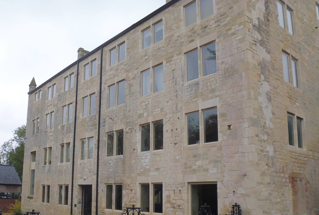 Alitherm Heritage Windows in Mill Conversion