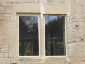 Alitherm Heritage in Old Stone Mullions