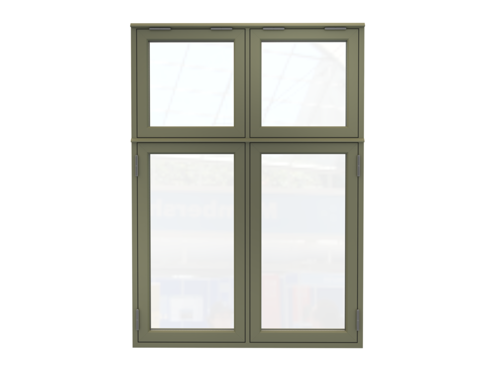 New Smart Systems Flush Sash Casement Window