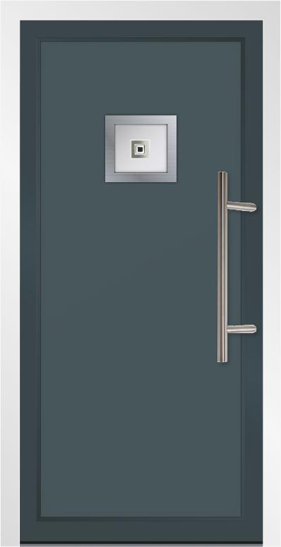 Aluminium Entrance Doors - Barry Hunt Windows Ltd