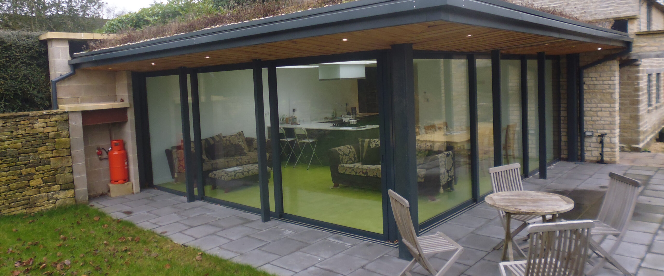 Three Panel Aluminium Patio Dors