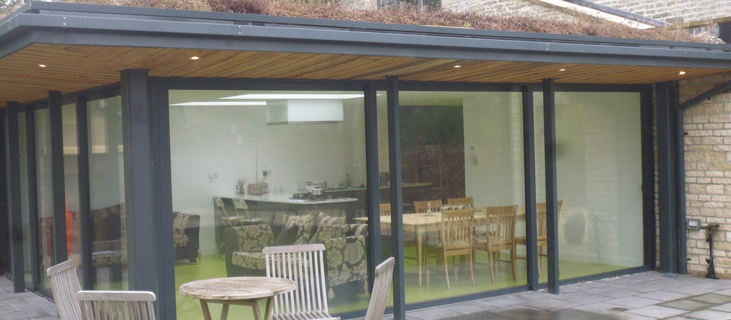 Aluminium Patio Doors in Anthracite Grey