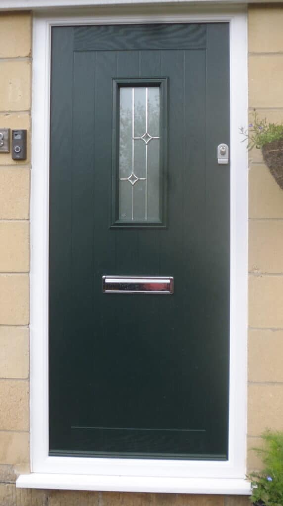Composite door with 'Slam Lock' fitted in Cirencester