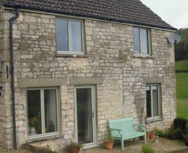 Smart Systems Aliterm 500 Flush Casements in Cotswold Stone Cottage